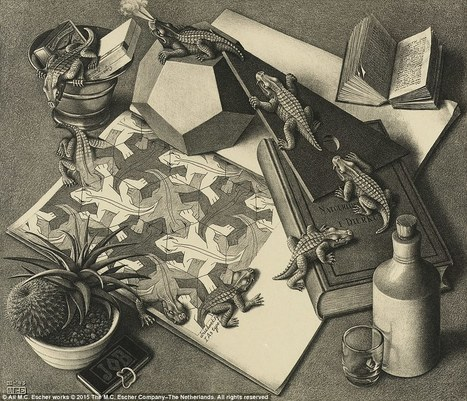 MC Escher's incredible optical illusions go on display in London | The brain and illusions | Scoop.it
