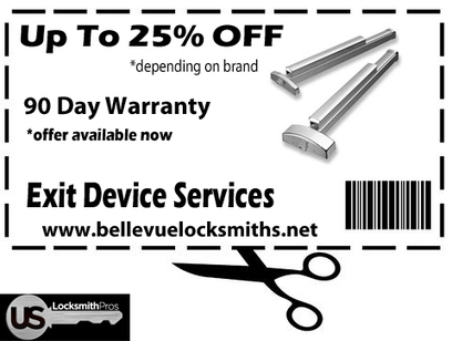Up to 25% OFF Exit Device Repair & Install Bellevue WA « | Locks and Keys | Scoop.it