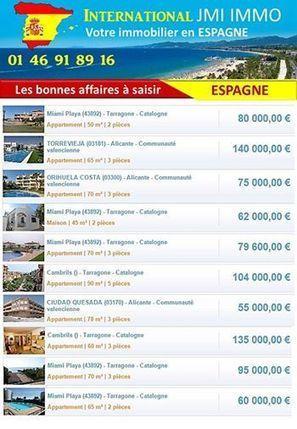 Recevez les meilleures offres immobilières en ESPAGNE (cliquez ICI) | Real estate USA | Scoop.it