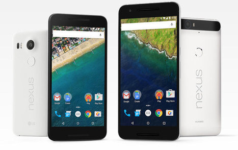 Google Officially Unveils Nexus 5X & 6P Android 6.0 Smartphones | Embedded Systems News | Scoop.it