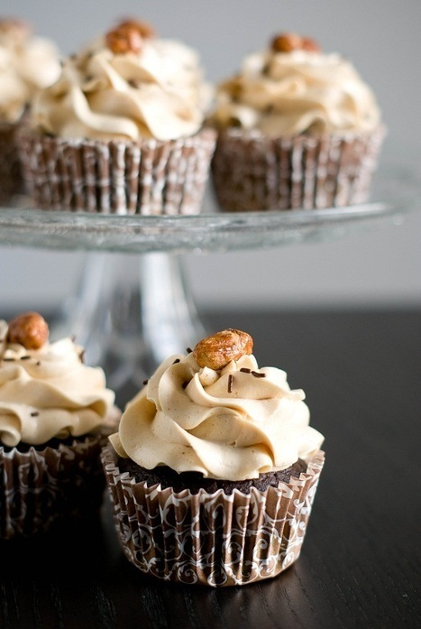Cupcakes Chocolat & Beurre de Cacahuètes - [RECIPE] | Food, Bakery & Restaurant Business all over the world | Scoop.it