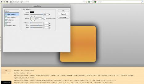 LayerStyles, un éditeur graphique CSS en ligne | Time to Learn | Scoop.it