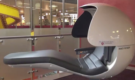Washington State U Tests Napping Pods | SCUP Links | Scoop.it