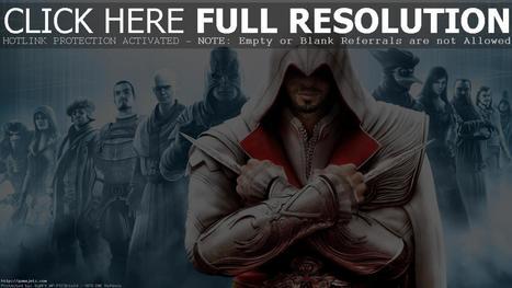 Download Assassins Brotherhood HD Wallpapers #3341 Wallpaper | gamejetz.com | gamesjetz | Scoop.it