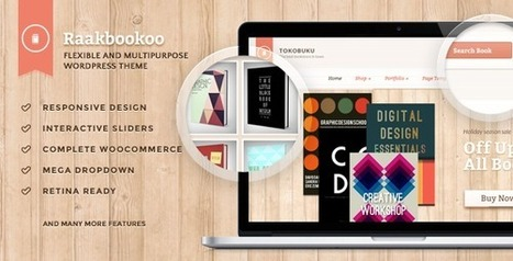 Raakbookoo - Woocommerce Theme For Book Store - Download! New Themes and Templates | kelitron | Scoop.it