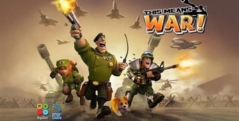 Télécharger le jeu gratuit This Means WAR! sur iPhone et iPad | Applications Mobile | Scoop.it