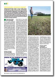 A2C le site de l'agriculture de conservation : Emmanuel Bourgy, Indre, profiter de l'AC en AB | agriculture de conservation | Scoop.it