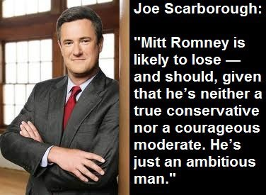 MSNBC Republican Commentator, Joe Scarborough, says Romney is likely to lose because... | Educating Voters and Promoting the Vote | Scoop.it