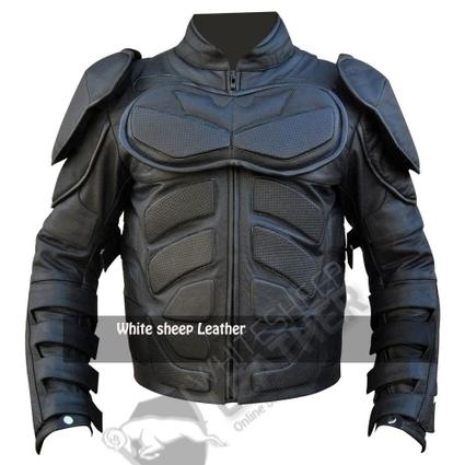 Batman: The Dark Knight Rises Motorcycle Jacket | movie leather jackets | Scoop.it