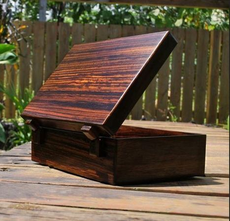 Rosewood Box, Antique Style Rosewood Box, HandCarved Rosewood Box, Manufacturer of Rosewood Box, WHCOMMERCE, Waseem Handicrafts | Wooden box | Scoop.it