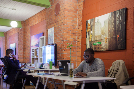 Detroit's co-working spaces lure freelancers and startups with ammenities and ... - Model D   Workplaces of the Future   Scoop.it