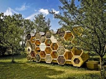 Hexagonal Bee Hotel Aims to Boost Declining Wild Bee Populations | Vertical Farm - Food Factory | Scoop.it