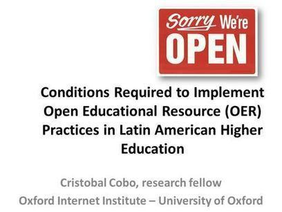 OCW Consortium Conference - Cambridge 2012 - Presentations | Open Educational Resources (OER) | Scoop.it