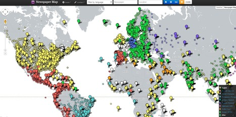 Free Technology for Teachers: Thousands of Newspapers on a Google Map | Mediakasvatus | Scoop.it