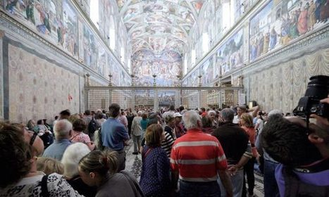Sistine Chapel tourists to be vacuumed and cooled to protect frescoes | The History of Art | Scoop.it