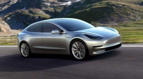 Avec son nouveau Model 3, Tesla essaye de remporter le défi ultime : faire aimer l'électrique au grand public   a million pages   Scoop.it
