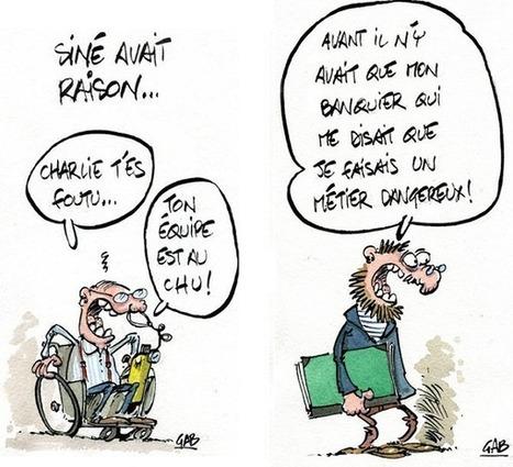 Je suis Charlie : le dessin satirique viticole endeuillé | Le vin quotidien | Scoop.it