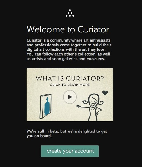 Curiator - For Art Collections and Your Art | Didactics and Technology in Education | Scoop.it