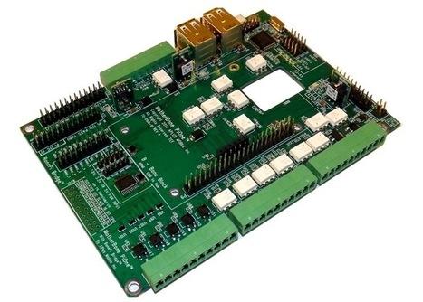 MotherBone PiOne Peripheral Motherboard For BeagleBone Black And Raspberry Pi.   Raspberry Pi   Scoop.it
