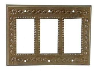 Triple Rocker Plate Cover Oxidized   Talavera Pottery and Switch Plate Cover   Scoop.it