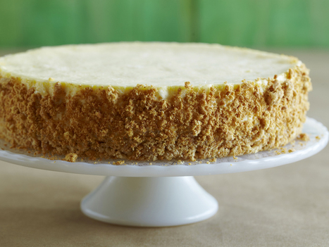Sour Cream Cheesecake : Alton Brown : Food Network | ♨ Family & Food ♨ | Scoop.it