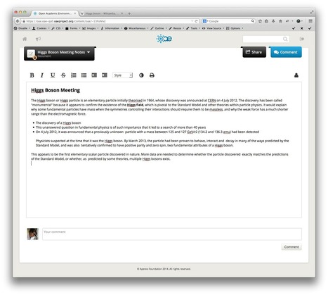 Apereo OAE Griffin is now available!   Apereo OAE   OAE   Scoop.it