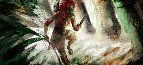 Speed-painting indian runner | my web garden | Concept art, Painting & Illustration | Scoop.it