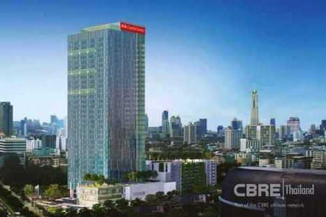 AIA Capital Center the Most Outstanding Design Landmark on Ratchadapisek Road | CBRE Thailand | Scoop.it