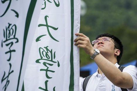 Les étudiants hongkongais sèchent les cours au nom de la démocratie | L'enseignement dans tous ses états. | Scoop.it