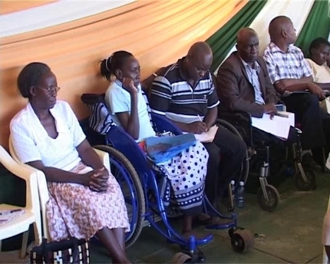 Murang'a Leaders Pledge Support For Persons With Disabilty - Citizen News | reasearch in the disabled world | Scoop.it