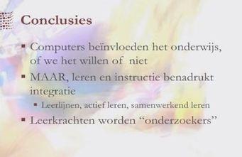 Martin Valcke over efficiënte ICT-keuzes maken in onderwijs [video ... | Tablets in het onderwijs | Scoop.it