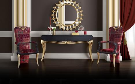 Luxurious Classic Italian Console mirror | Classic French Furniture - Italian Interior designs | Scoop.it