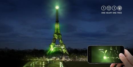 Des forêts virtuelles sur la TOUR EIFFEL pour reforester la planète - COP21 | UseNum - ArtsNumériques | Scoop.it