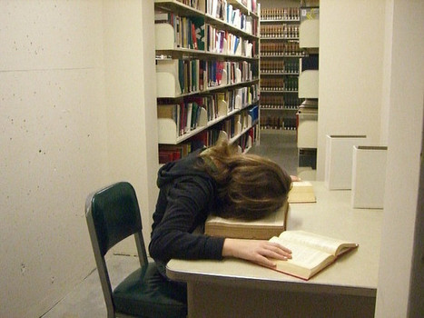 People Sleeping in Libraries - a gallery on Flickr | The Future Librarian | Scoop.it