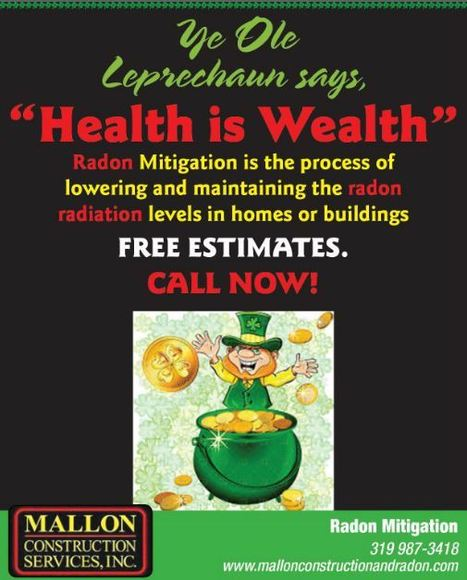 Happy St Patty's Day! | The seriousness of Radon... | Scoop.it