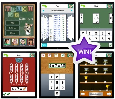 Win A Copy Of TeachMe: Math Facts And Watch Your Child's Mind Grow - AppAdvice | CLOVER ENTERPRISES ''THE ENTERTAINMENT OF CHOICE'' | Scoop.it