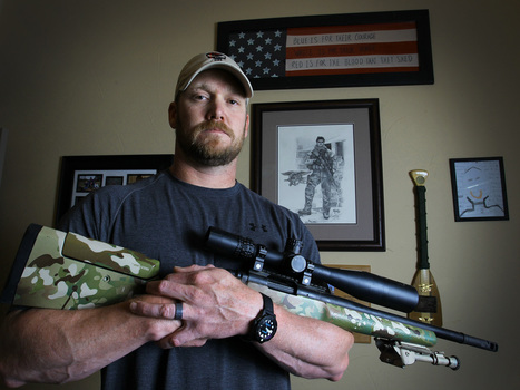 Reports: 'American Sniper' Chris Kyle Died While Trying To Help Fellow Veteran : NPR | Seal team Six | Scoop.it