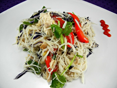 Rice Noodles Salad | Healthy Diet Recipes | Scoop.it