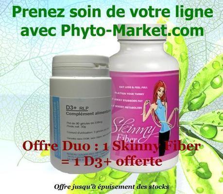 Offre Duo : Skinny Fiber + D3 Plus Offert - Phyto-Market.com by Jean-Marc FRAICHE | alternative-sante | Scoop.it