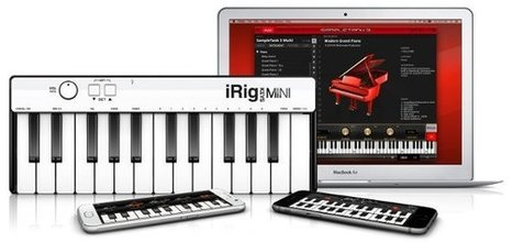 iRig Keys MINI: una piccola tastiera MIDI per i nostri device - iPhoneItalia - Il blog italiano sull'Apple iPhone | risorse per musicisti | Scoop.it