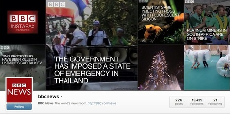 The BBC Experiments With Video News Coverage on Instagram | Social Media, SEO, Mobile, Digital Marketing | Scoop.it