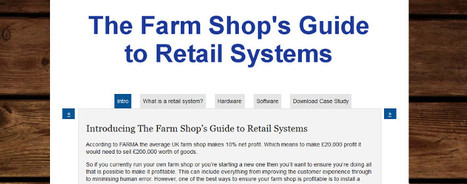 Farm Shop Guide to Retail Systems | Read it here | Farm Shops | Scoop.it