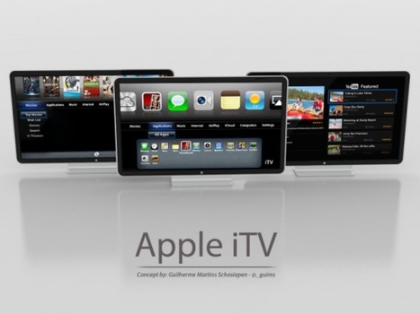 Apple iTV Television Concept Shows Up, Based on Steve Jobs Walter Isaacson Biography | TechWatch | Scoop.it