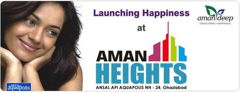 Crossing Republic, Projects, Flats | Aman Heights | Scoop.it