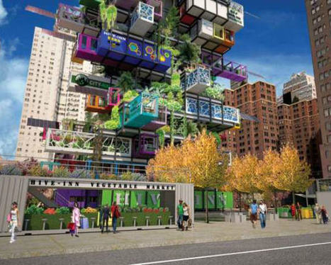 This Vertical Farm Skyscraper May Change Our Cities Forever   This Gives Me Hope   Scoop.it