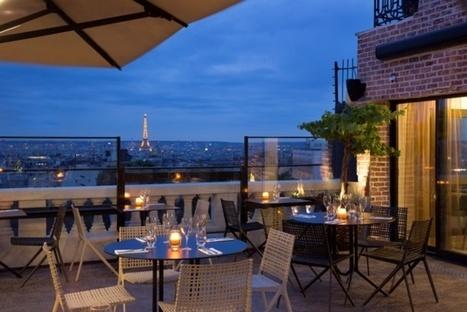 Le nouveau rooftop du Terrass'' Hôtel à Paris   Gastronomie Française 2.0   Scoop.it