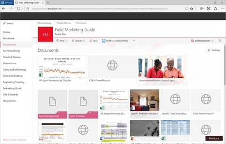 Modern document libraries in SharePoint - Office Blogs   E-learning and teaching   Scoop.it