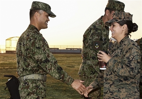 Face of Defense: Marine Uses Life Experience to Succeed | Homeless Female Veterans | Scoop.it