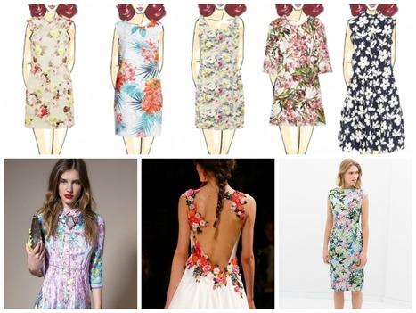 TACCO12 cm di Chiara Maria Gargioli: Moda outfit 2014: Fiori che passione | Life style | Scoop.it