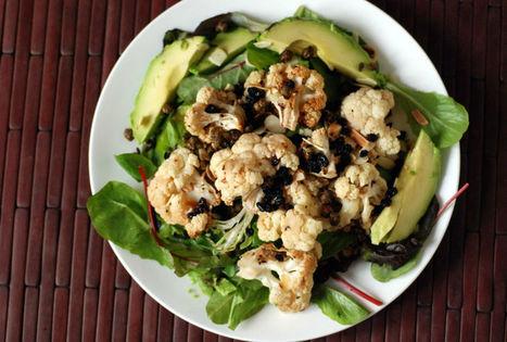 Vegan Roasted Cauliflower and Caper Salad | My Vegan recipes | Scoop.it